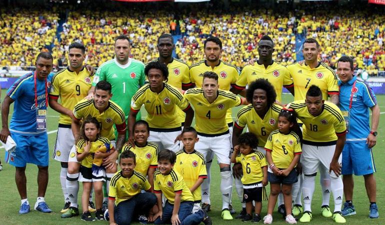 Selección Colombia: Corea del Sur y China serían los rivales de Colombia en fecha FIFA