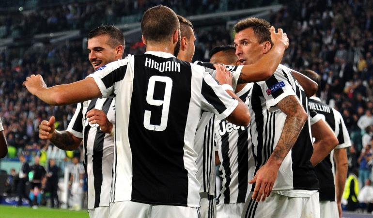 Juventus Olympiacos Cuadrado Felipe Pardo: Con Cuadrado 60 minutos, la Juventus venció 2-0 al Olympiacos