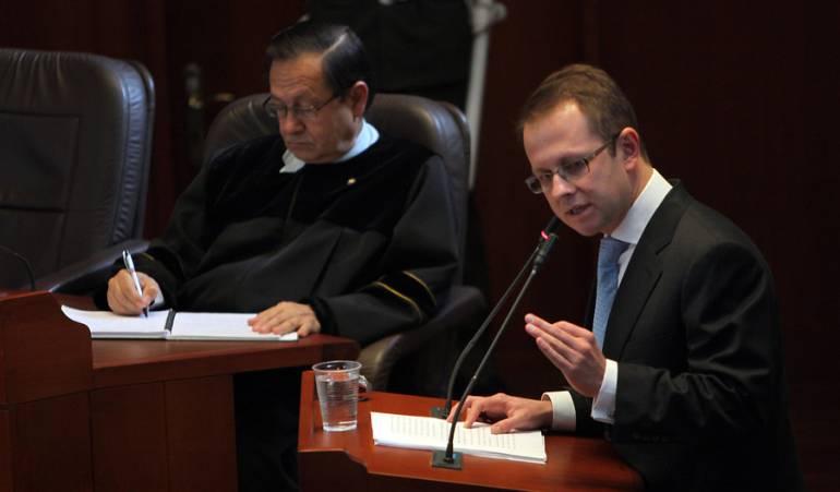 Exministro Andrés Felipe arias será extraditado a Colombia