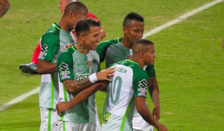 Nacional 3-0 Cortuluá: Nacional goleó a Cortuluá y ascendió al segundo lugar de la Liga Águila