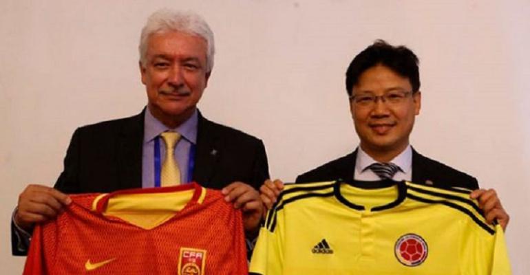 Fútbol colombiano estará presente en torneos amistosos del fútbol chino