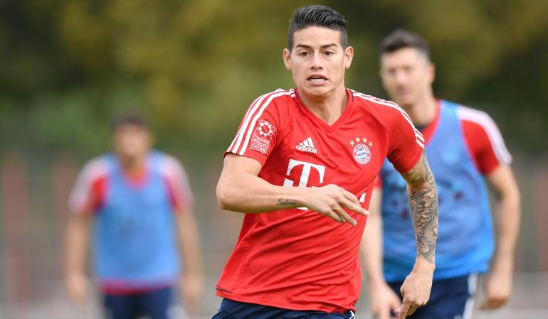 James Bayern Múnich: James Rodríguez no jugó en el empate del Bayern ante el Herta Berlín