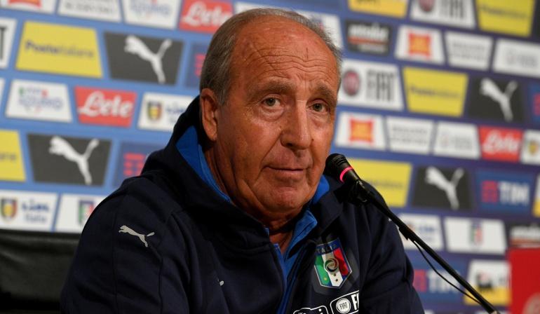Si Italia no va al Mundial sería una catástrofe: Gian Piero Ventura