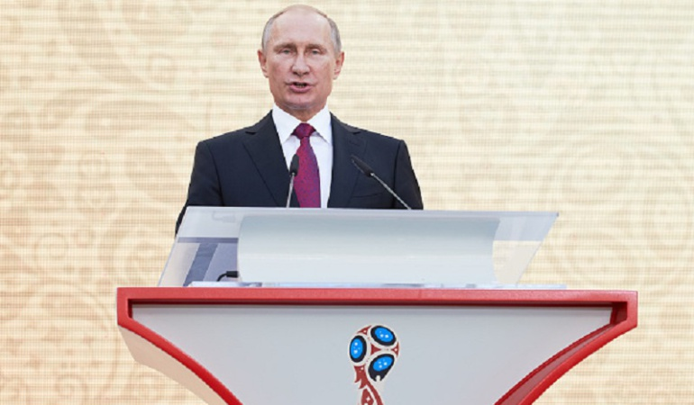 Mundial Rusia 2018: Retrasos en infraestructura para el mundial son inaceptables: Vladimir Putin