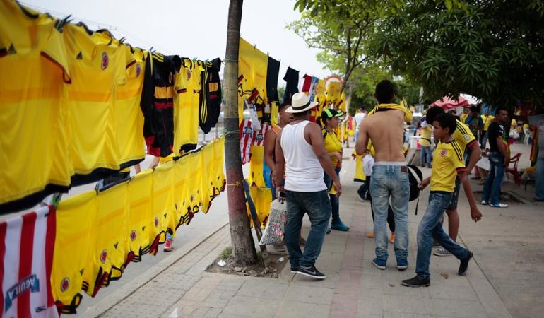 Colombia Paraguay: Colombia-Paraguay dejará a Barranquilla 13.000 millones de pesos