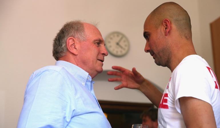 Le comenté a Pep quién será el nuevo técnico y estuvo de acuerdo: Hoeness
