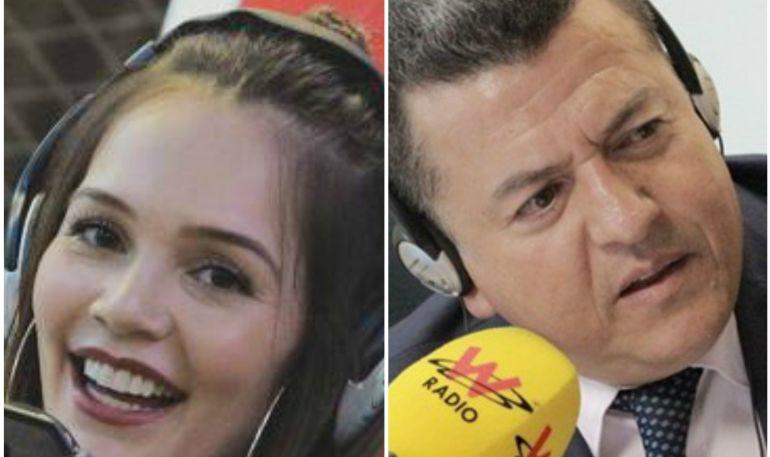 Hugo Ospina insultó a Lina Tejeiro por promocionar la plataforma Cabify
