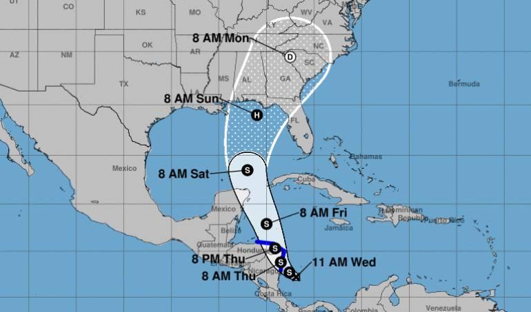 Lluvias: Se forma otra depresión tropical en el Caribe que afectaría a San Andrés