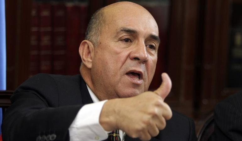 Ubeimar Delgado, candidato presidencial del Partido Conservador.