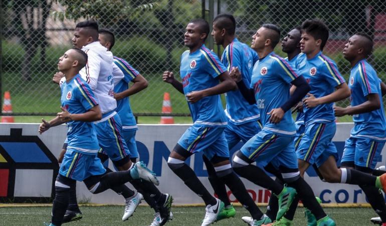 Selección Colombia debuta con derrota en el Mundial Sub 17