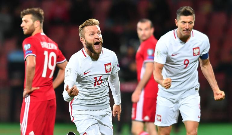 Selección Polonia: Polonia golea a Armenia en la penúltima fecha de las Eliminatorias