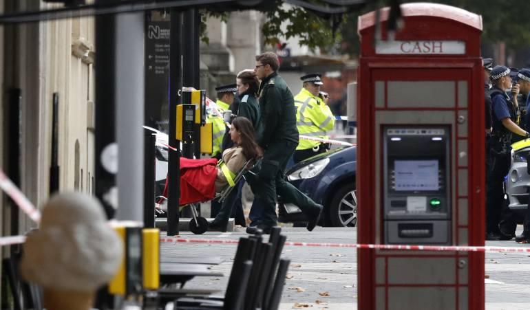 """Atropellamiento en Londres: Elevan a """"grave"""" nivel de terrorismo en Londres"""
