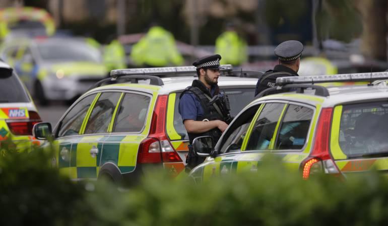 """Accidente en Londres: Gobierno británico dice que el atropello de Londres es un """"accidente"""""""