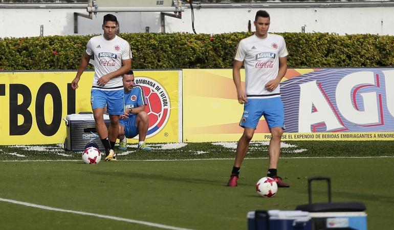 Segundo entrenamiento Selección Colombia: Colombia entrenó con todo el plantel en el estadio Metropolitano
