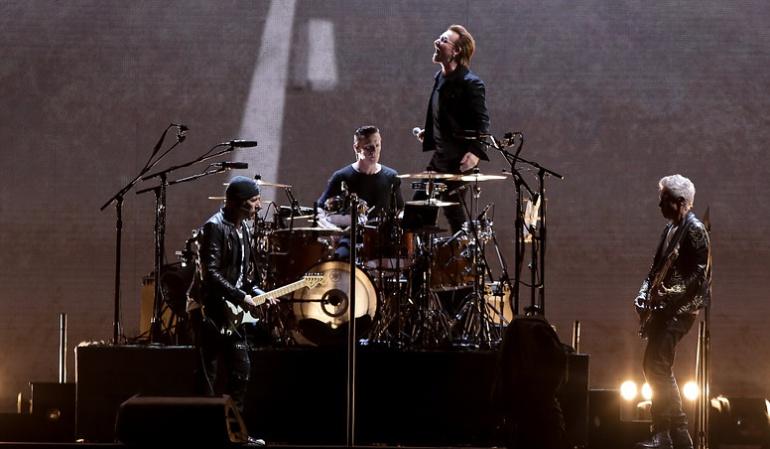 Concierto de U2 en Bogotá: U2 hace homenaje a García Márquez, mujeres y paz en concierto en Bogotá