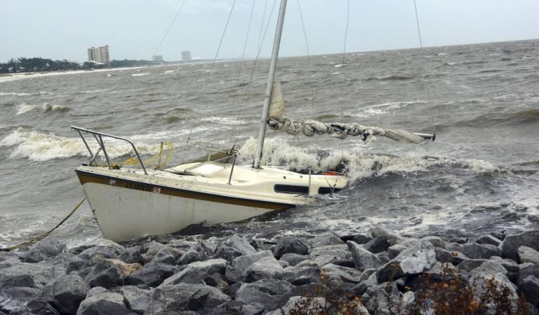 Tormenta tropical Nate en Estados Unidos: Tormenta tropical Nate se debilita, pero anega sur de EE.UU.