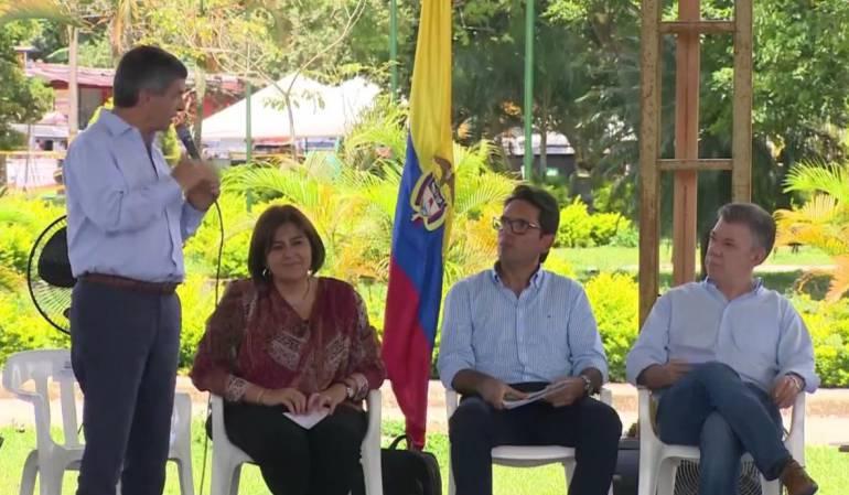 Conflicto desarrollo económico: En 344 municipios afectados por el conflicto se impulsará el desarrollo económico