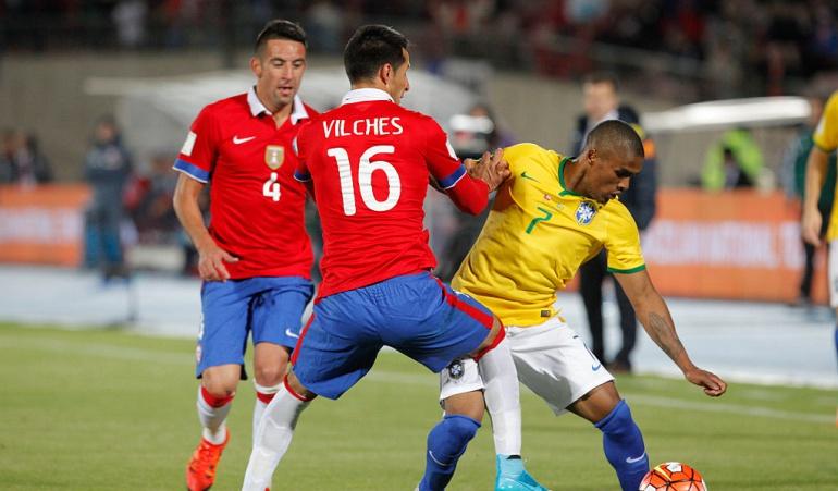 Brasil chile en vivo: Chile, sin Vidal se juega pase al Mundial ante Brasil