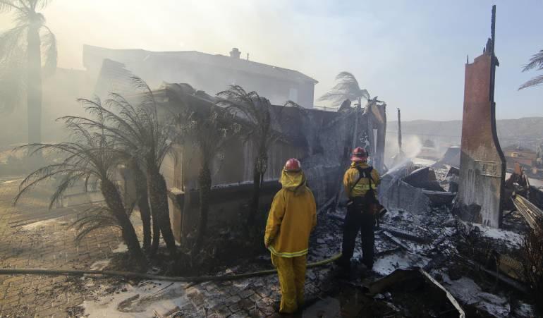 Incendio en California: Suben a tres las víctimas mortales por los incendios en California
