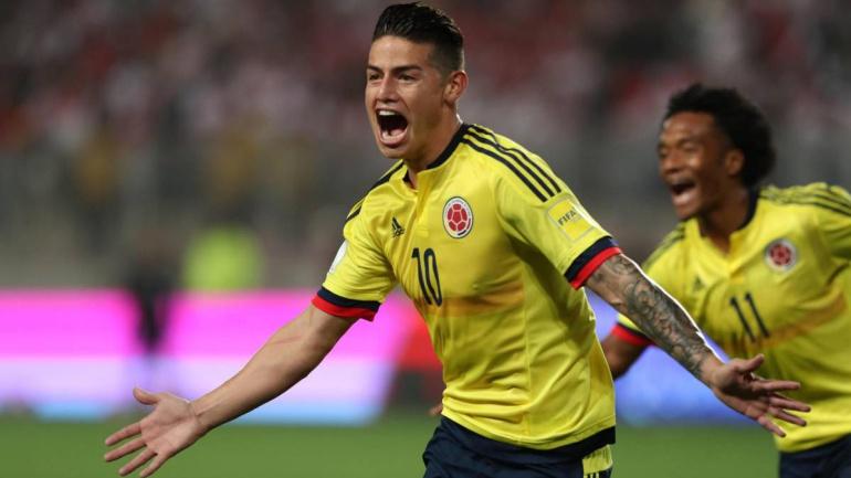 Colombia 1x1: James repite un gol en Lima que vale Mundial