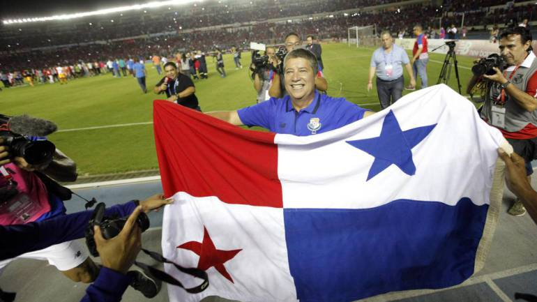 'Bolillo' Gómez clasifica a Panamá al Mundial de Rusia