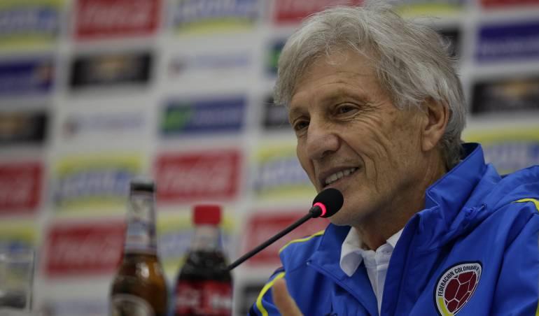 """Rueda de prensa Pékerman clasificación: """"La clasificación habla de la grandeza de este grupo de jugadores"""": Pékerman"""