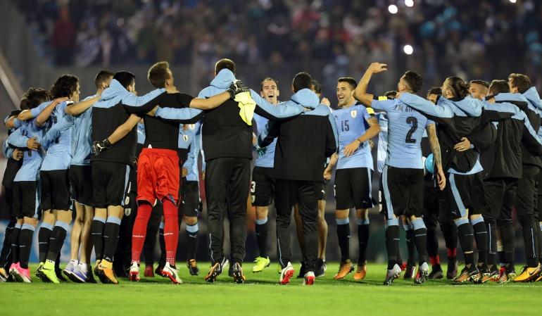 Uruguay: Uruguay rubrica con una goleada la mejor eliminatoria de su historia
