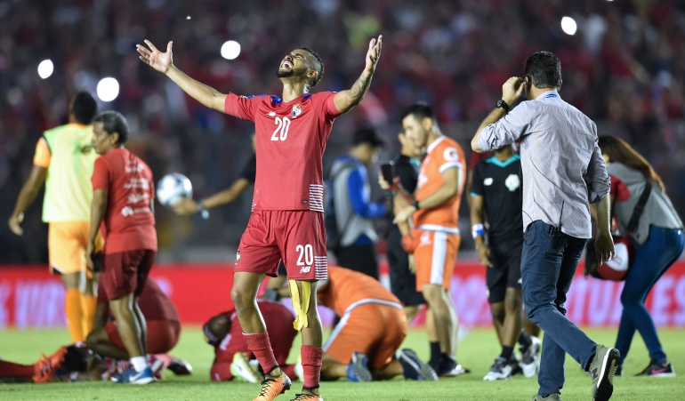 Selección Panameña de fútbol. Gol Fantasma.: El gol fantasma con el que la Selección de Panamá clasificó al Mundial