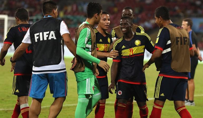 Selección Colombia sub 17: La Selección Colombia avanzó a los octavos de final del Mundial Sub 17