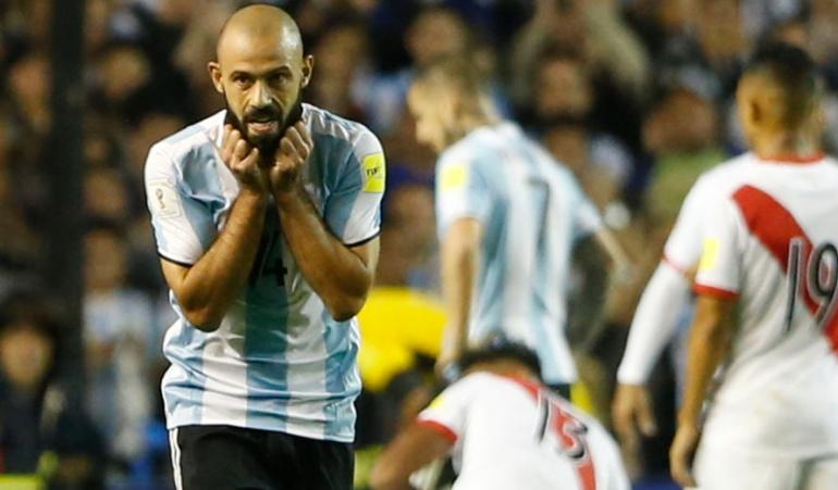 Javier Mascherano Argentina Mundial: Mi ciclo en la selección termina en Rusia: Javier Mascherano
