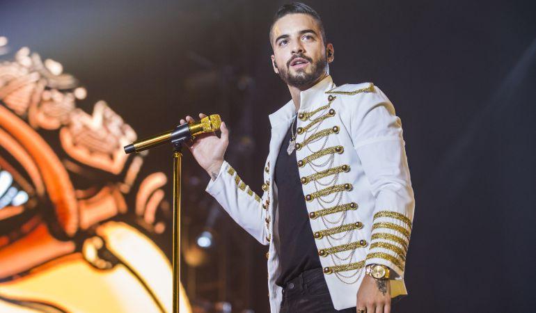Maluma en concierto.