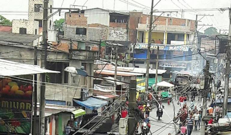 Orden público en Tumaco: Desesperados por delincuencia y orden público se declararon comerciantes en Tumaco