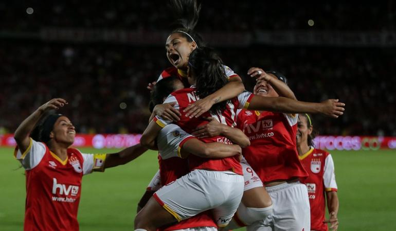 Santa Fe Deportivo ITA Copa Libertadores femenina: Santa Fe debuta con goleada en la Copa Libertadores Femenina