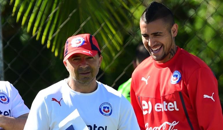 Jorge Sampaoli: Vidal en el 'ojo del huracán' por escándalo en Selección Chilena