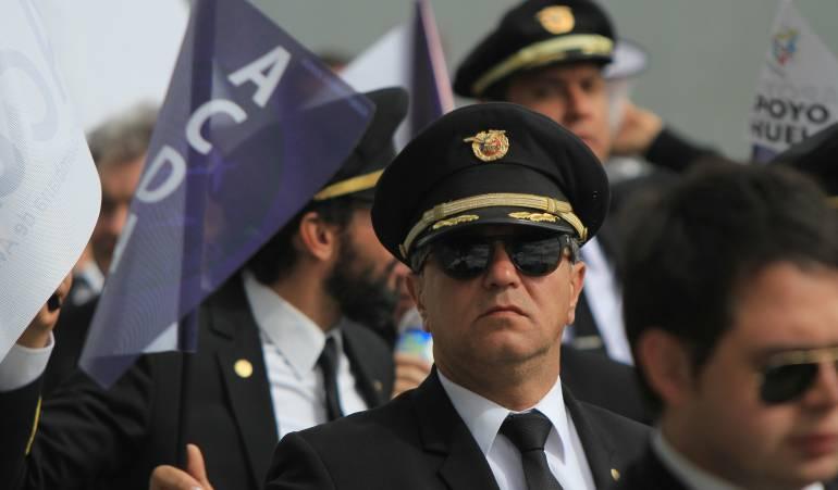 Diferendo avianca y pilotos de Acdac: Avianca dice que el conflicto con Acdac debe resolverse en las instancias legales