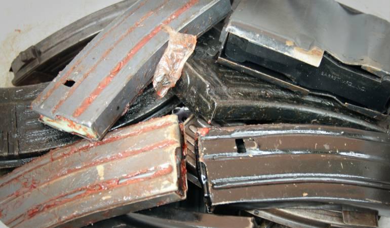 Destrucción de armas de las Farc: Más de 60 mil kilogramos de armas de las Farc fueron destruidas