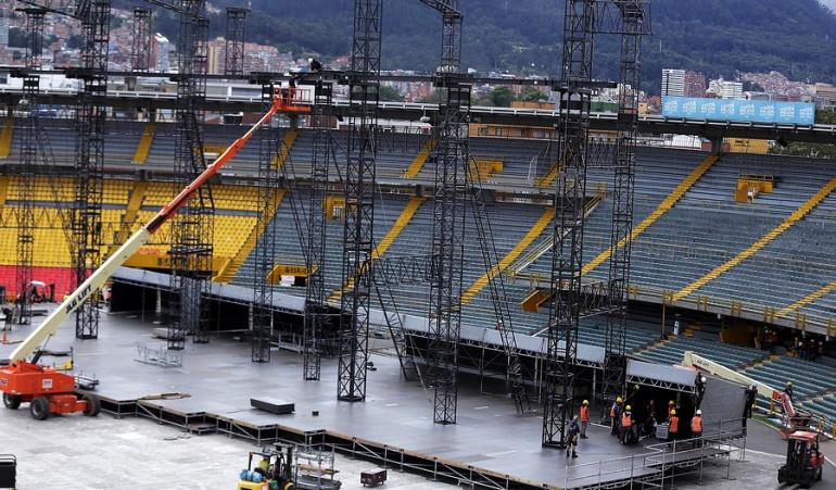 Encuesta estadios conciertos: ¿Seguiría prestando los estadios de fútbol para la realización de conciertos?