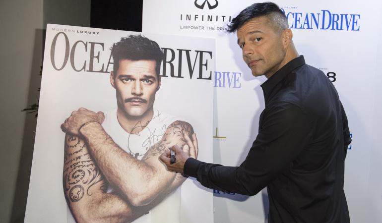 Ricky Martin: ¿Cómo se ve Ricky Martin con bigote?