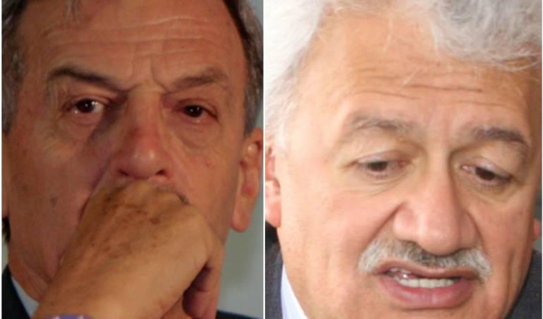 Alfonso Plazas Vega y Everth Bustamante.
