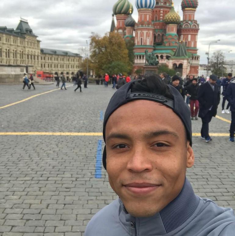 Luis Fernando Muriel: Rusia: Muriel el primero en pisar tierra mundialista