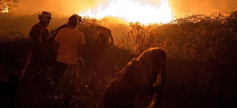 Sube a 27 muertos la cifra por los incendios de Portugal