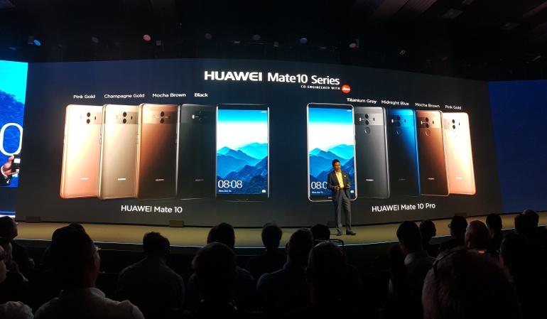 Huawei Mate 10 Precio Colombia: Estuvimos en el lanzamiento del Huawei Mate 10 y esto vimos