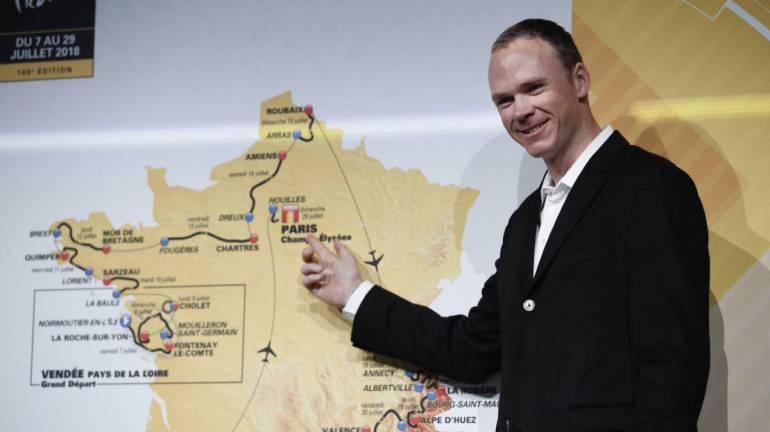 """Froome: """"El Tour premiará al ciclista más completo"""""""