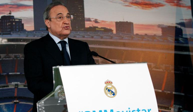Florentino Pérez Barcelona Cataluña: No contemplo una Liga sin el Barcelona, ni una España sin Cataluña: Florentino Pérez