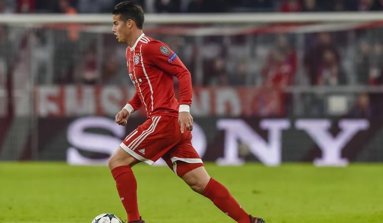 James debutó con Heynckes: James debutó con Heynckes en la victoria 3-0 del Bayern ante el Celtic