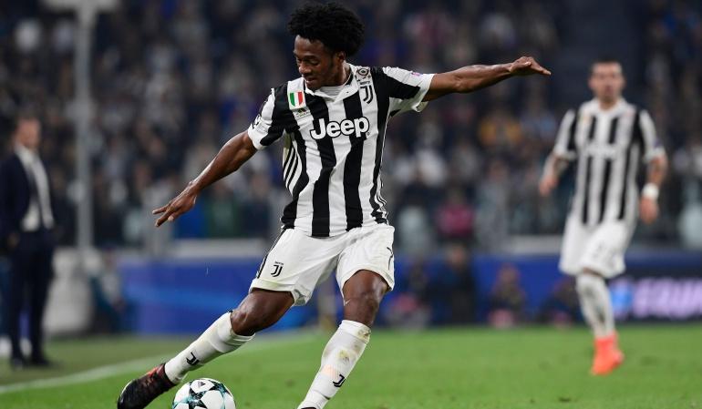 Juan Guillermo Cuadrado Juventus: Cuadrado jugó los 90 minutos en la victoria 2-1 de la Juve ante el Sporting