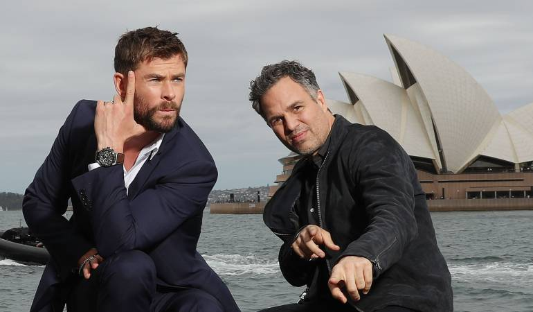 Chris Hemsworth y Mark Ruffalo.