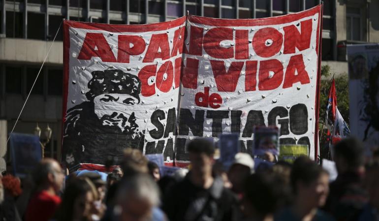 Desaparecido en Argentina: Santiago Maldonado, una desaparición que conmueve a Argentina