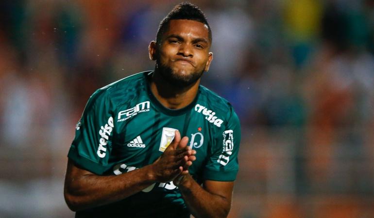 Miguel Borja Palmeiras: Miguel Borja volvió a anotar después de 3 meses de sequía