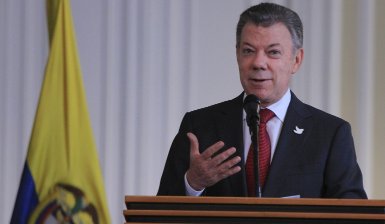 Santos anuncia intervención integral en Tumaco